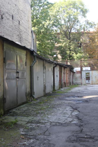 Lviv hinterhof