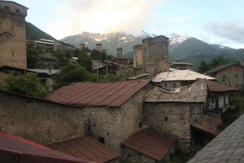 Alte Svan Turm.Mestia. Georgien